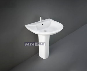 Wash Basin | Pedestal White | Liwa Rak -
