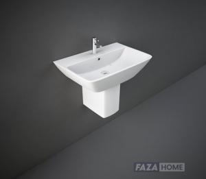 Wash Basin | Half Pedestal White | Summit Rak Ceramics -