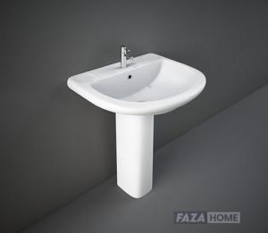 Wash Basin | Pedestal White | ORIENT RAK 660 X 550 MM -