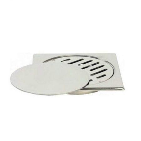 Stainless Steel Floor Drain Silver