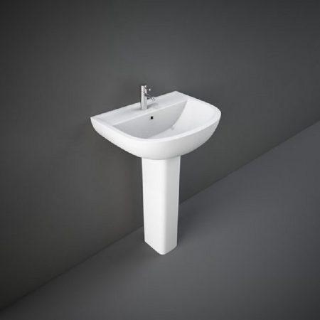 Wash Basin | Pedestal White | COMPACT RAK