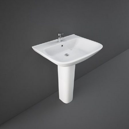 Wash Basin   Pedestal White   ORIGIN  RAK