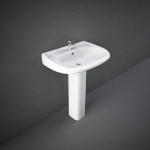 Wash Basin | Pedestal White | FLORA RAK -