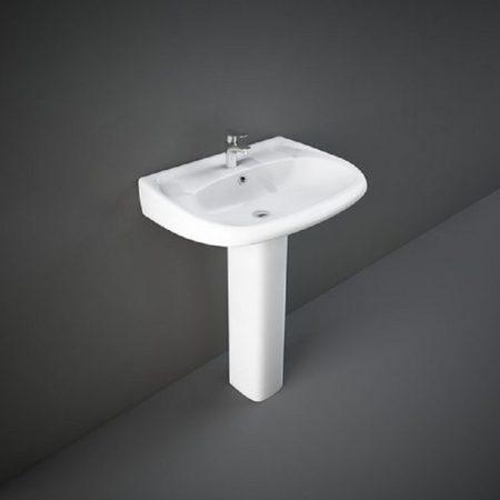 Wash Basin | Pedestal White | FLORA RAK