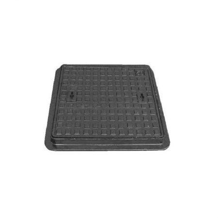 Ductile ManHole Cover 450X450mm-KAJ Recess 4cm |KAJ