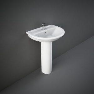 Wash Basin | Pedestal White | KARLA RAK -
