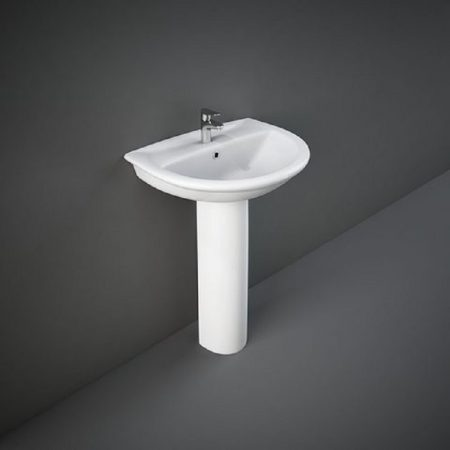 Wash Basin | Pedestal White | KARLA RAK
