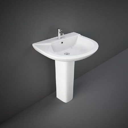 Wash Basin | Pedestal White | LIWA  RAK