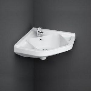 Wash Basin | Cloakroom White 51X40 | RAK CORNER -