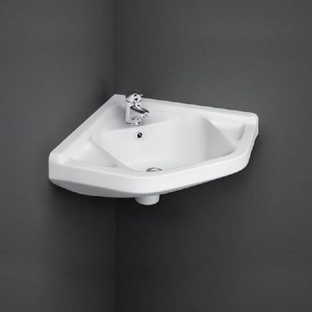 Wash Basin | Cloakroom White 51X40 | RAK CORNER