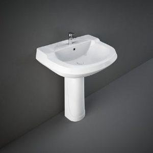 Wash Basin | Pedestal White | RAK PRIME -