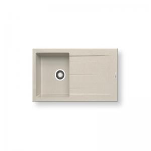 Alazia (85X50) 1B 1D Pyragranite Sink | PYRAMIS -