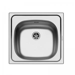 Profondo (44X47) 1B Undermount Stainless Steel Sink | PYRAMIS -