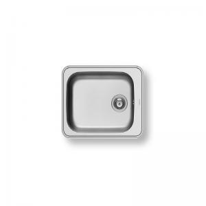 Space Plus 1B (61X48) Stainless Steel Sink | PYRAMIS -