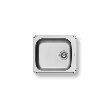 Space Plus 1B (61X48) Stainless Steel Sink | PYRAMIS