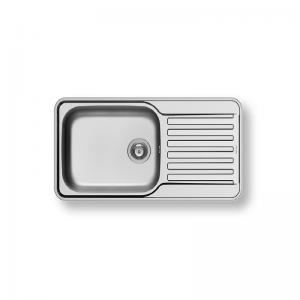 Space Plus 1B 1D(96X48) Stainless Steel Sink | PYRAMIS -