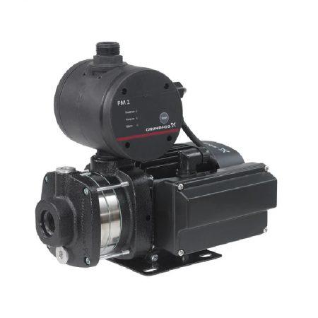 Horizontal Multistage Centrifugal 1HP Pump GrundFos Pressure Control CM5-3