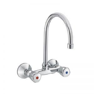 PREMIER Dual Controlled Sink Mixer with Swivel Spoutt | KLUDI RAK -