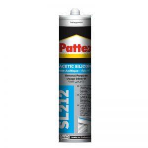 PATTEX-Silicone General Purpose Transparent, 280ml -