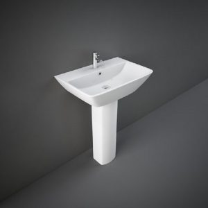 Wash Basin | Pedestal White | SUMMIT  RAK -