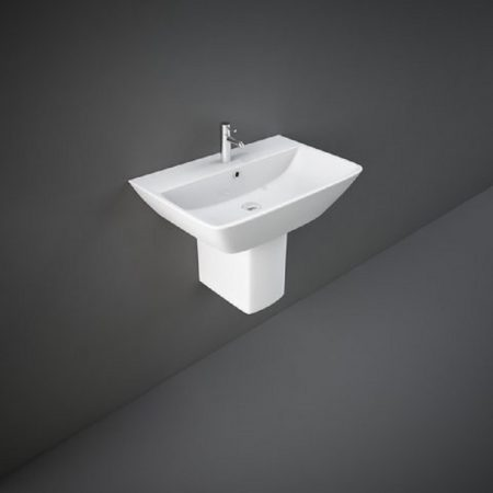 Wash Basin | Half Pedestal White | SUMMIT  RAK