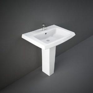 Wash Basin | Pedestal White | RAK-STAR GALAXY 715 X 520 MM -