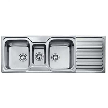Classic 2½B 1D Inset Stainless Steel Sink | TEKA