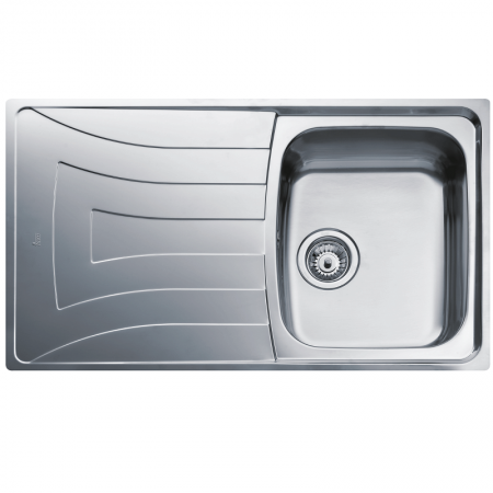 Universo  1B 1D 86 Recessed Kitchen Sink | TEKA