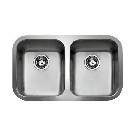 BE 2B 780 Undermount Stainless Steel Sink | TEKA