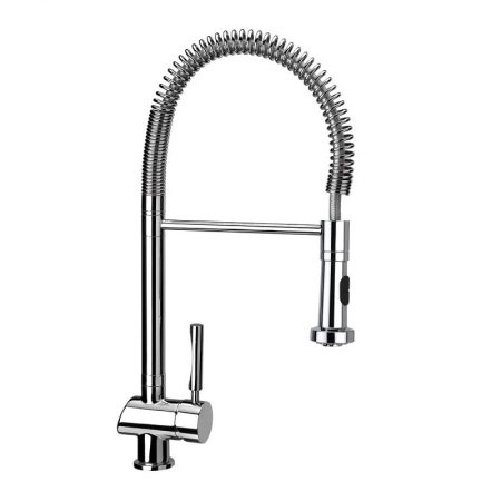 MY1 Professional Kitchen Faucet Mixer and Flexible Stainless Steel Pipe | TEKA