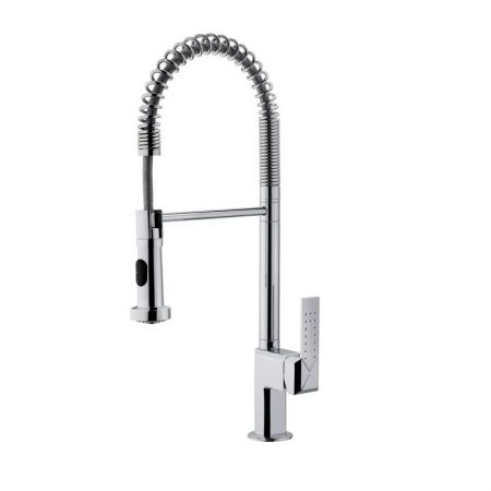MYX Professional Kitchen Mixer Tap with High Swivel Spout 360 ° and Extractable Handle 2 Jets   TEKA