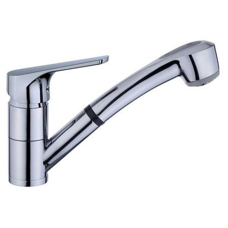 MTP 978 Kitchen Faucet Spout Mixer Under Molten Gitatorio and Extractable Handle 2 Functions | TEKA