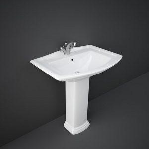 Wash Basin | Pedestal White | WASHINGTON RAK -