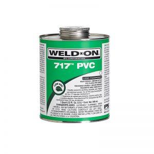 Weldon Glue 717 PVC -