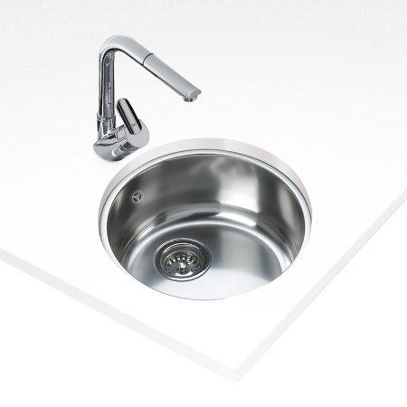 Undermount Stainless Steel Sink (39X39)CM