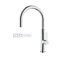 Single Lever Kitchen Tap Teka with aerator integrated in spout -