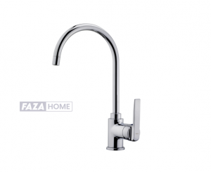 Kitchen Tap Mixer Teka with high swivel spout and anti-scale aerator -