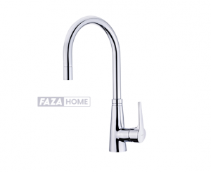 Kitchen Tap Mixer Teka with high spout and pullout shower -