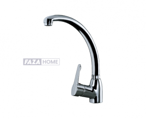 Single Lever Kitchen Tap Teka with high and swivel spout -