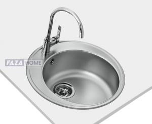 Inset sink Teka with matt finish in 45 cm -