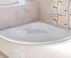 SANITECH REEMA ACRYLIC BATHTUB 125 x 125 cm -