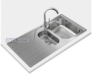 Inset reversible stainless steel Teka sink in 60 cm -