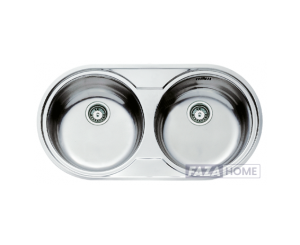Inset Stainless Steel Sink Teka Two bowl -