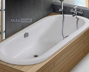 DANA ACRYLIC BATHTUB OVAL 160X70.5 cm -