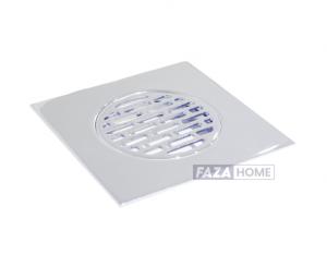 Floor Shower Drain Vertical Outlet 100mm Diameter Aquadrain -