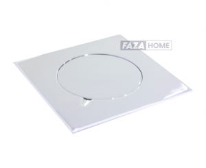Floor Drain with Cover Vertical Outlet Aquadrain -