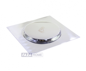 Floor Drain with Pop-Up Cover Vertical Outlet Aquadrain 150 x 150 mm -